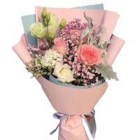 问候-戴安娜白玫瑰6枝送朋友闺蜜老师女友老婆客户领导爱情友情白色情人节