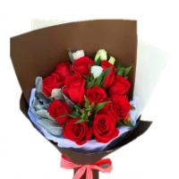 为你跳动-11枝红玫瑰送朋友老婆女友爱情友情生日情人节七夕节女神节圣诞节