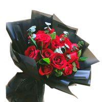 终于等到你-19枝红玫瑰送女友老婆朋友爱情友情生日情人节七夕节圣诞节520表白女神节