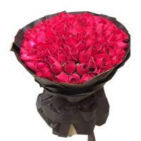 至爱-99枝红玫瑰送女友老婆爱情生日祝福情人节七夕节圣诞节520表白