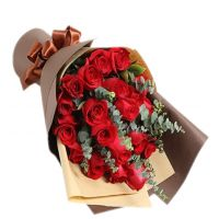 幸福的港湾-19枝红玫瑰送女友老婆朋友爱情友情生日情人节圣诞节七夕节520表白