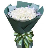 白色恋人-33枝白玫瑰送朋友闺蜜老婆女友爱情友情白色情人节