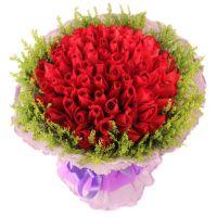又见麋鹿-99枝红玫瑰送女友老婆爱情情人节七夕节520表白求婚圣诞节