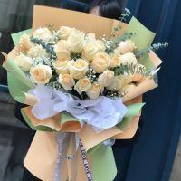 香槟玫瑰送女友送老婆女神节情人节爱情