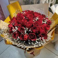 红玫瑰送女友送老婆女神节情人节七夕节爱情表白