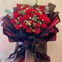 爱情花火-29枝红玫瑰送女友老婆生日情人节七夕节圣诞节520女神节爱情周年纪念