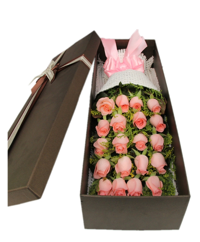 挚爱人生-20枝戴安娜玫瑰礼盒